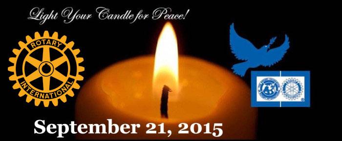 Peace Candle 2